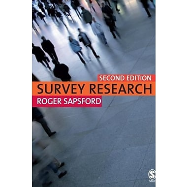 Survey Research, New Book, (9781412912327)