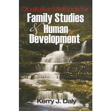 Qualitative Methods for Family Studies and Human Development, New Book, (9781412914031)