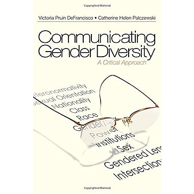 Communicating Gender Diversity: A Critical Approach, Used Book, (9781412925594)