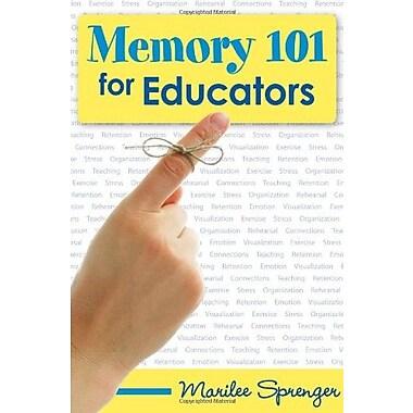 Memory 101 for Educators, New Book, (9781412927734)