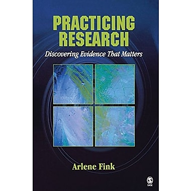 Practicing Research: Discovering Evidence That Matters, Used Book, (9781412937702)
