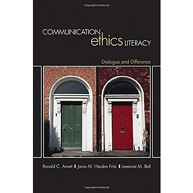 Communication Ethics Literacy: Dialogue and Difference, New Book, (9781412942140)