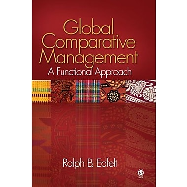Global Comparative Management: A Functional Approach, New Book, (9781412944700)