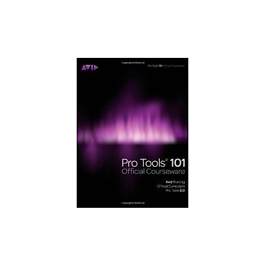 Pro Tools 101 Official Courseware, Version 9.0, Used Book, (9781435458802)
