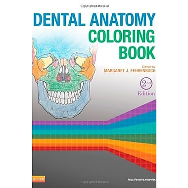 Dental Anatomy Coloring Book, 2e, Used Book, (9781455745890)