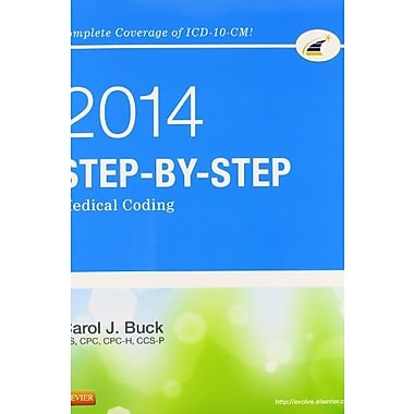 Step-by-Step Medical Coding, 2014 Edition, 1e, Used Book, (9781455746354)