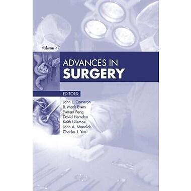 Advances in Surgery, 1e, New Book, (9781455772728)