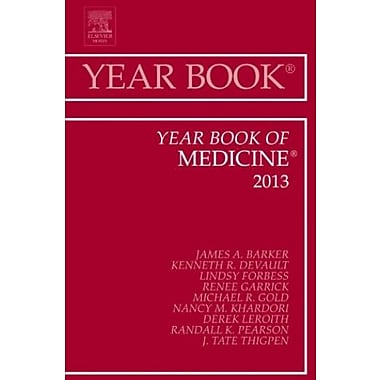 Year Book of Medicine 2013, 1e (Year Books), New Book, (9781455772773)