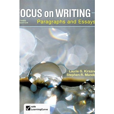 Focus on Writing: Paragraphs and Essays, New Book, (9781457633270)