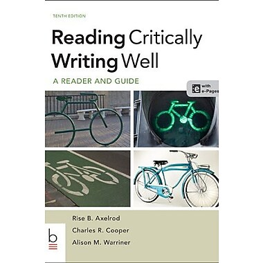 Reading Critically, Writing Well, New Book, (9781457638947)