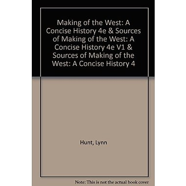 Making of the West, New Book, (9781457643903)