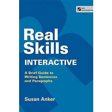 Real Skills Interactive: A Brief Guide to Writing Sentences and Paragraphs, Used Book, (9781457654107)