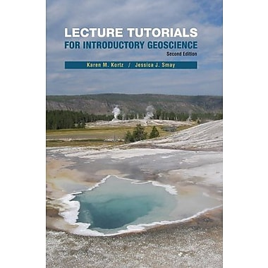 Lecture Tutorials in Introductory Geoscience, Used Book, (9781464101052)