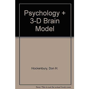 Psychology & 3-D Brain Model, New Book, (9781464122668)