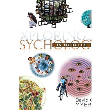 Exploring Psychology in Modules (Loose Leaf) & Psychportal Access Card (6 Month), New Book, (9781464162107)