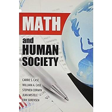 Math and Human Society, New Book, (9781465213877)