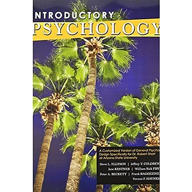 Introductory Psychology: A Customized Version of General Psychology, Used Book, (9781465220752)
