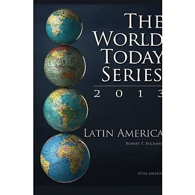 Latin America 2013 (World Today (Stryker)), Used Book, (9781475804775)