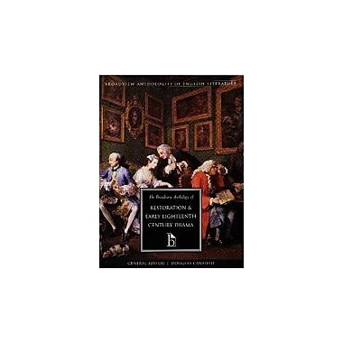 The Broadview Anthology of Restoration and Early Eighteenth-Century Drama, New Book, (9781551112701)
