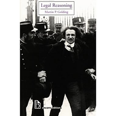 Legal Reasoning, New Book, (9781551114224)