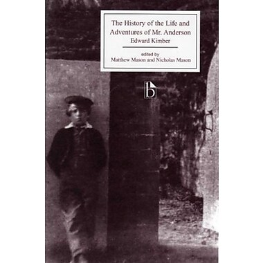 The History of the Life and Adventures of Mr. Anderson (Broadview Editions), New Book, (9781551117034)