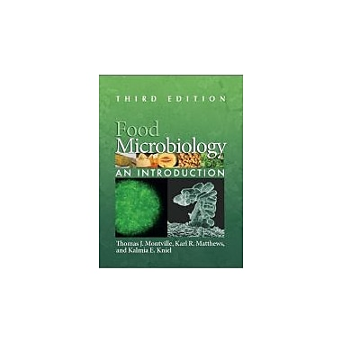 Food Microbiology: An Introduction, New Book, (9781555816360)