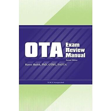 OTA Exam Review Manual, New Book, (9781556427015)