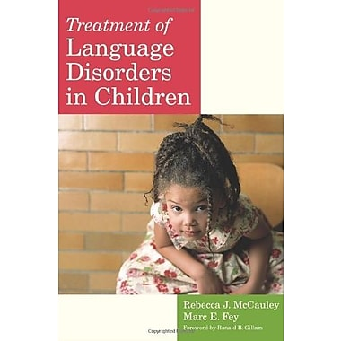 Treatment of Language Disorders in Children (CLI), New Book, (9781557666888)