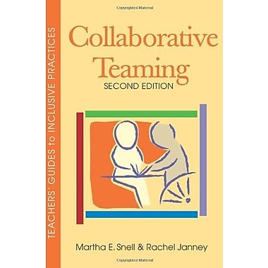 Collaborative Teaming, Second Edition (Teachers' Guides), New Book, (9781557667113)