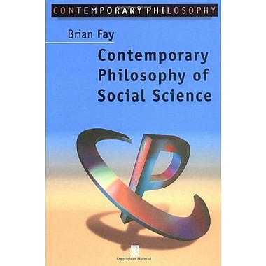 Contemporary Philosophy of Social Science: A Multicultural Approach, New Book, (9781557865380)