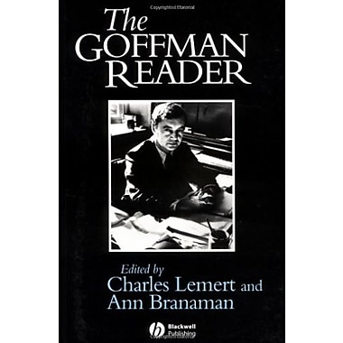 The Goffman Reader, New Book, (9781557868947)