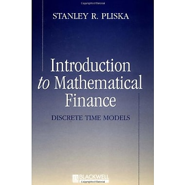 Introduction to Mathematical Finance: Discrete Time Models, Used Book, (9781557869456)