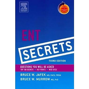 ENT Secrets, 3e, Used Book, (9781560536178)