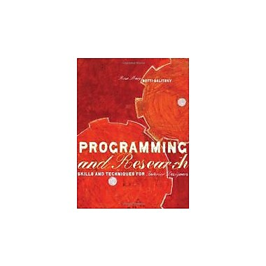 Programming and Research: Skills and Techniques for Interior Designers, New Book, (9781563676376)
