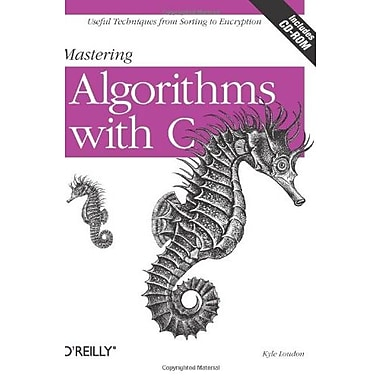 Mastering Algorithms with C, New Book, (9781565924536)