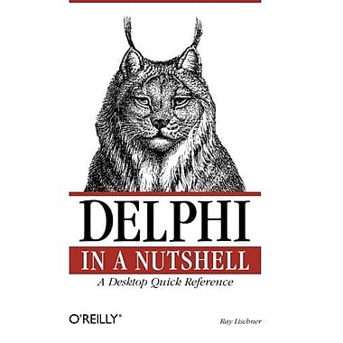 Delphi in a Nutshell (In a Nutshell (O'Reilly)), New Book, (9781565926592)