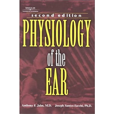 Physiology of the Ear, New Book, (9781565939943)