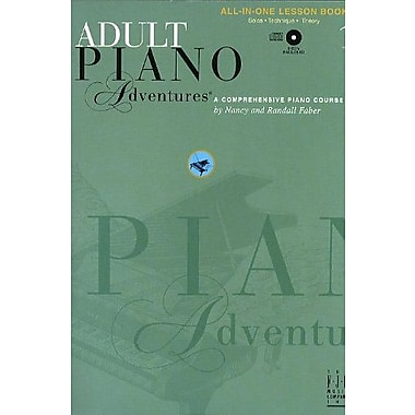 Adult Piano Adventures: A Comprehensive Piano Course, Book 1 - All-in-One Lesson Book, New Book, (9781569393390)