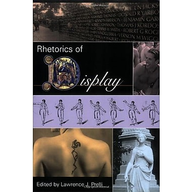 Rhetorics of Display (Studies in Rhetoric/Communication), New Book, (9781570036194)