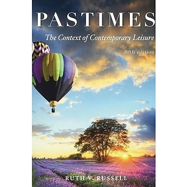Pastimes: The Context of Comtemporary Leisure, Used Book, (9781571677129)