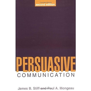 Persuasive Communication, Second Edition, New Book, (9781572307025)