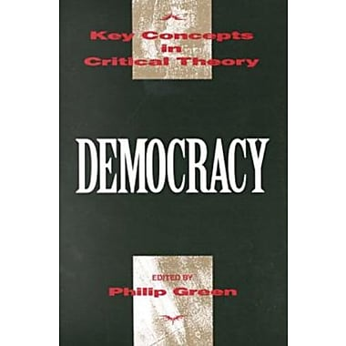 Democracy (Key Concepts in Critical Theory), New Book, (9781573925501)