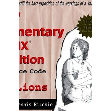 Lions' Commentary on Unix, New Book, (9781573980135)