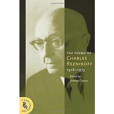 The Poems Of Charles Reznikoff: 1918-1975 (A Black Sparrow Book), New Book, (9781574232035)
