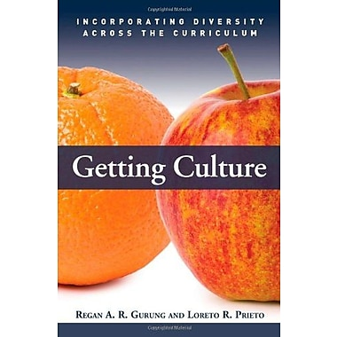Getting Culture: Incorporating Diversity Across the Curriculum, New Book, (9781579222802)