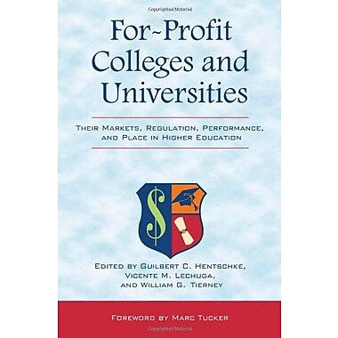 For-Profit Colleges and Universities, New Book, (9781579224257)