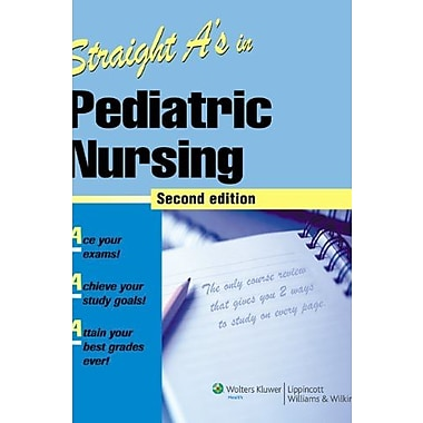 Straight A's in Pediatric Nursing, Used Book, (9781582556970)