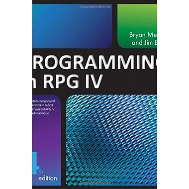 Programming in RPG IV, New Book, (9781583473559)