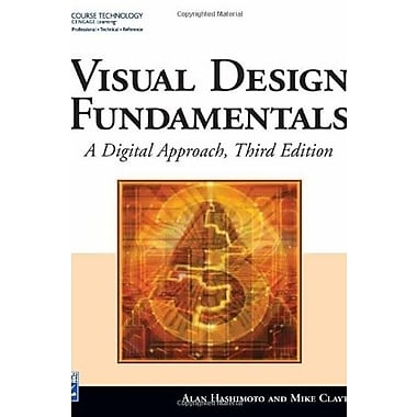 Visual Design Fundamentals: A Digital Approach, New Book, (9781584505815)