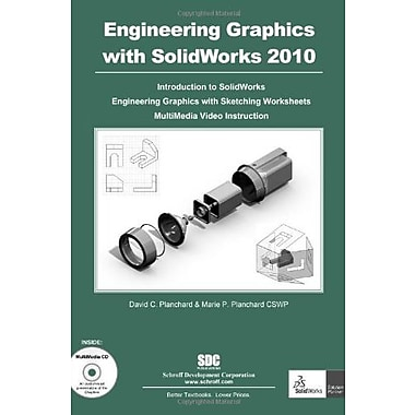 Engineering Graphics with SolidWorks 2010 and Multimedia CD, New Book, (9781585035670)